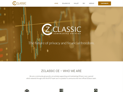 Z Classic Cryptocurrency
